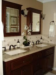 travertine bathroom vanity best bathroom vanity backsplash ideas
