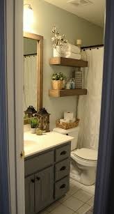 How To Make Small Bathroom Look Bigger Best 25 Bathroom Shelves Ideas On Pinterest Half Bath Decor