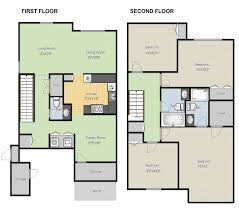 Free Online Exterior Home Design Tool by Create Floor Plans Online For Free With Large House Floor Plans