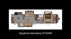 Fifth Wheel Bunkhouse Floor Plans Montana Fifth Wheel Floor Plans Keystone Rv Youtube