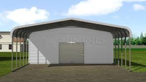 Carport Styles by 18x26 Metal Utility Carport