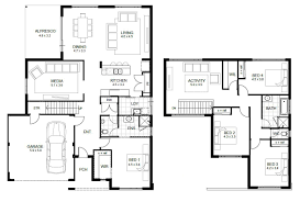 42 two story floor plans and u modular homes two story floorplans