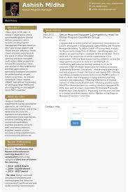 Sample Resume For Senior Manager by Senior Program Manager Resume Samples Visualcv Resume Samples