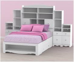bookshelf headboard king size full size storage bed with bookcase