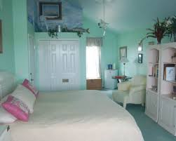 Ocean Themed Bedding Floor Fur Rugs Storage Beach Themed Bedroom Bunk Bed White Covered