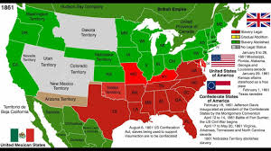 United States Map by Abolition Of Slavery Map United States Youtube