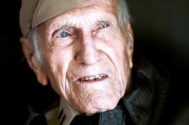 Zamperini at age     from The Daily Breeze