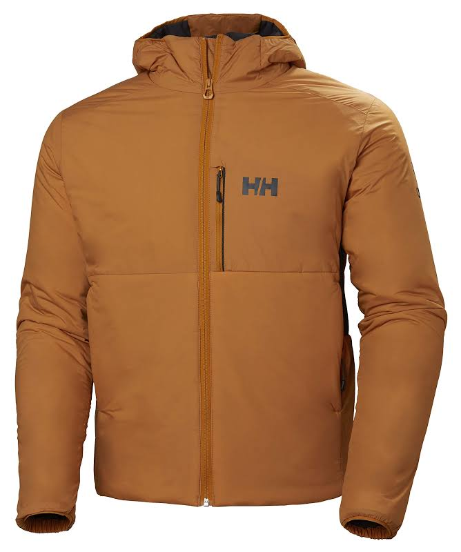 Helly Hansen Odin Stretch Hooded Insulated Jacket Marmalade Small 62833-283-S