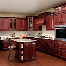 cherry kitchen cabinets rich warm contrast flows throughout this