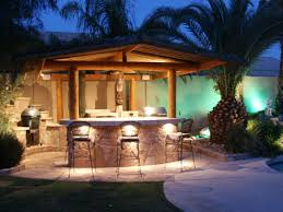 Outdoor Patio With Roof by Lighting Ideas Dramatic Outdoor Lighting Designs In Brick House