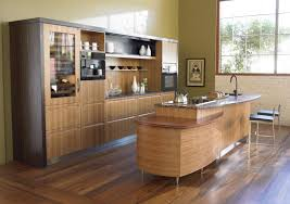 Kitchen Bar Design by Awesome Asian Kitchen Design With Dining Table And Long Chair