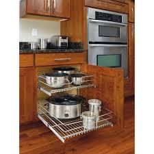 rev a shelf 19 in h x 11 75 in w x 22 in d base cabinet pull