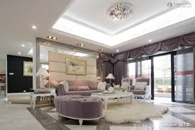 modern ceiling design in living room reflects artistic look