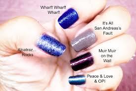review swatches opi san francisco nail polish fall 2013