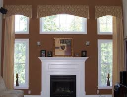 trees bay window treatments and window decorating on pinterest