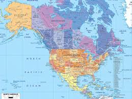 United States And Canada Map by North America Map Mexico Download Map Usa And Mexico Major