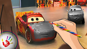 the cars 3 movie 2017 lightning mcqueen coloring pages video for