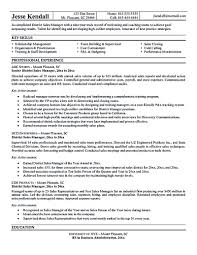 Sales Manager Resume Sales Manager Cv Example Click Here To Hotel     Brefash
