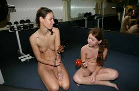 PureNudism gym'|PURENUDISM.COM - FKK Indoor Fitness in the Treatmill Workout Room Picture
