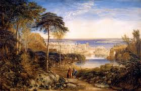David Cox by Carthage Aeneas And Achates 1825 David Cox Wikiart Org