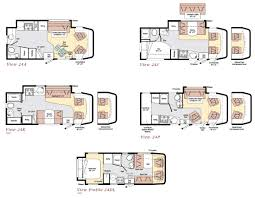 Fleetwood Bounder Floor Plans by 28 Motor Home Floor Plans 2011 Monaco Riptide Class A