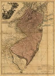 Map Of Pennsylvania And New Jersey by The Province Of New Jersey Divided Into East And West Commonly