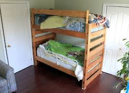 Plans For Building Bunk Beds by 31 Diy Bunk Bed Plans U0026 Ideas That Will Save A Lot Of Bedroom Space