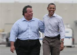 Chris Christie called Barack