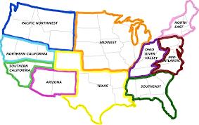 Southeast Map Jsa Junior State Of Americajsa States Jsa Junior State Of