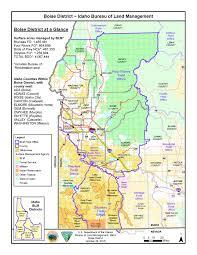 Colorado Unit Map media center public room idaho boise district map bureau of