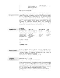 Example Resume  Computer Operator Resume Sample  professional     Example Skill Resume Template   skills section of a resume