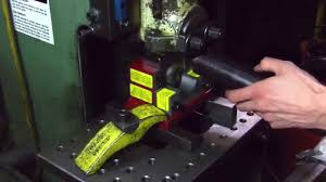 punch tools tube notching youtube