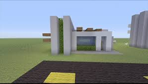 Small House Build How To Build A Small Modern House In Minecraft Youtube