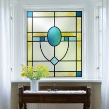stained glass door film stained glass effect window film purlfrost