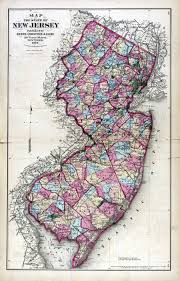Map Of Pennsylvania And New Jersey by New Jersey Historical Maps