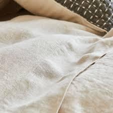 chemin de lit en lin drap de dessus lin lavé drap de dessus lit zara home france