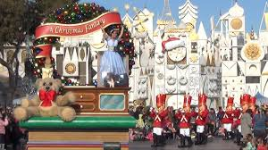 halloween parade background a christmas fantasy parade at disneyland daytime with