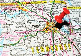 Charlotte Usa Map by Outline Map Of Tennessee With Tennessee Usa Outline Map With