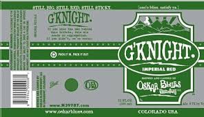 Gordon Biersch forces Oskar Blues to say G'Knight to its Gordon beer