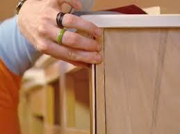 Kitchen Cabinet Refacing Veneer Refacing Bathroom Cabinets How Tos Diy