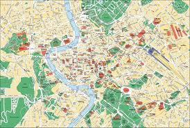 G Map Map Of Rome Tourist Attractions Sightseeing U0026 Tourist Tour