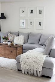 throw pillows for grey couch and elegant living room photo in