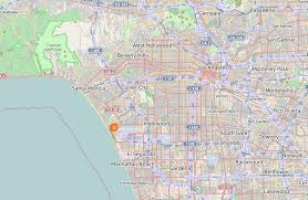 Los Angeles County Map by Playa Del Rey Los Angeles Wikipedia