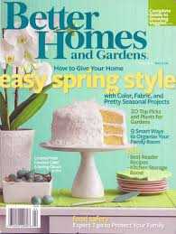 perfect better homes and gardens magazine included a oneyear better homes and gardens magazine