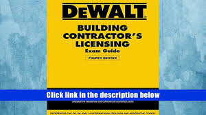 pdf download dewalt building contractor s licensing exam guide