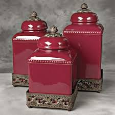 Kitchen Canisters Red 100 Red Canister Sets Kitchen Sunny Simple Life Chickens In