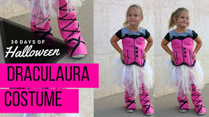 diy monster high draculaura costume jphalloween youtube
