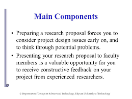 Department of Computer Science and Technology  Taiyuan     SlidePlayer      Department of Computer Science and Technology  Taiyuan University of Technology Research Proposal Structure
