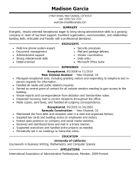 Good Resume Examples by The Best Resume Examples