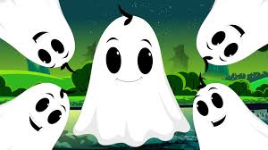 five naughty ghosts halloween nursery rhyme songs for children u0027s